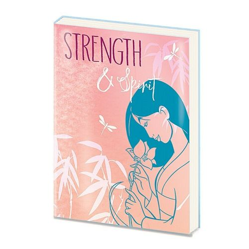 Disney Mulan Strength and Spirit A5 PVC Notebook Note Pad